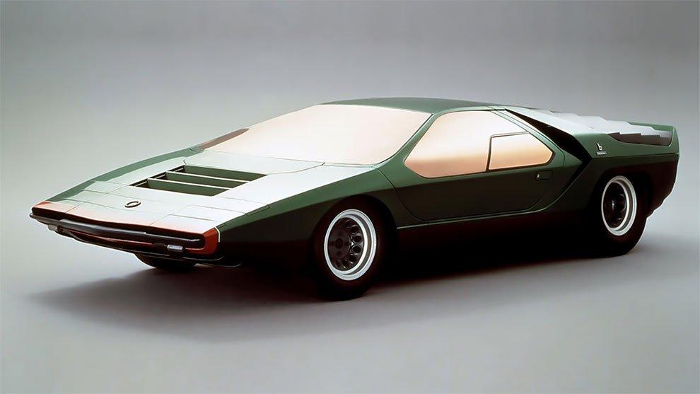 Концепт Alfa Romeo Carabo 1968 года