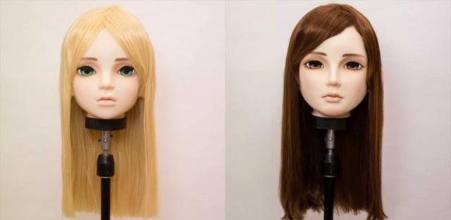 Жуткие аниме-маски из Японии
