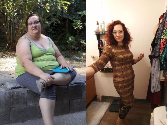 Максимальное похудение: до и после