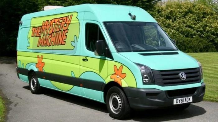 Фургон из мультфильма Скуби Ду выставили на продажу