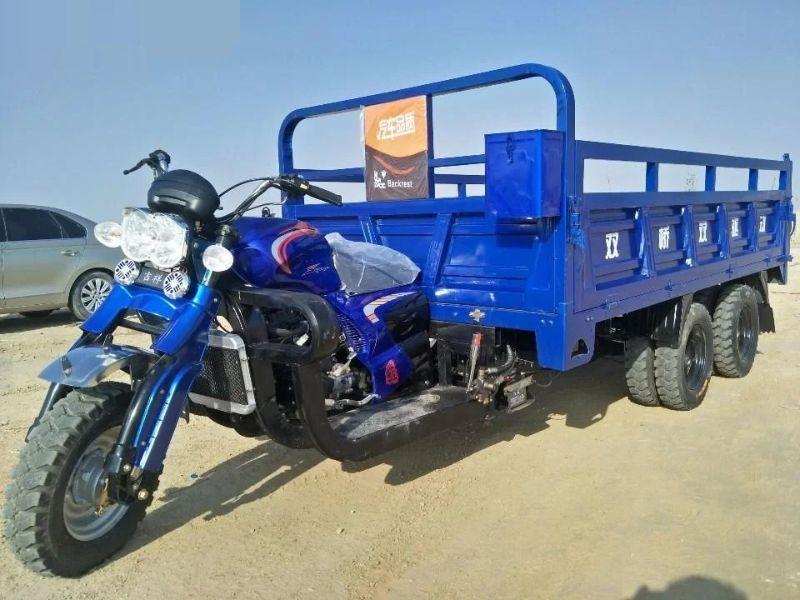 Китайские мотоциклы-самосвалы как альтернатива грузовикам