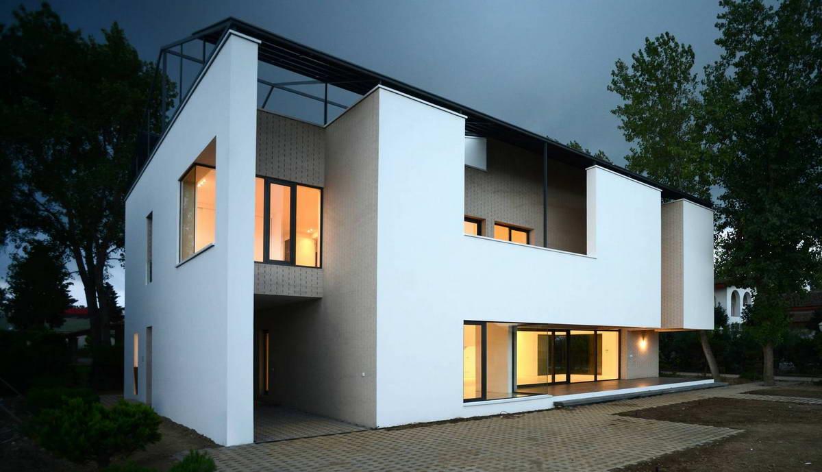 Модернистский дом в Иране
