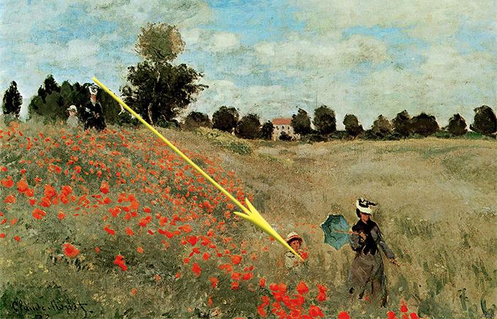 Загадки на картине Маки Клода Моне