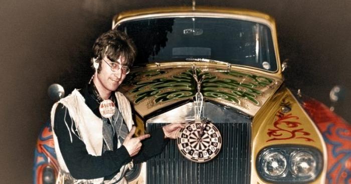 Джон Леннон и его галлюциногенный Rolls Royce