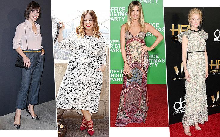 Суровые диеты голливудских знаменитостей