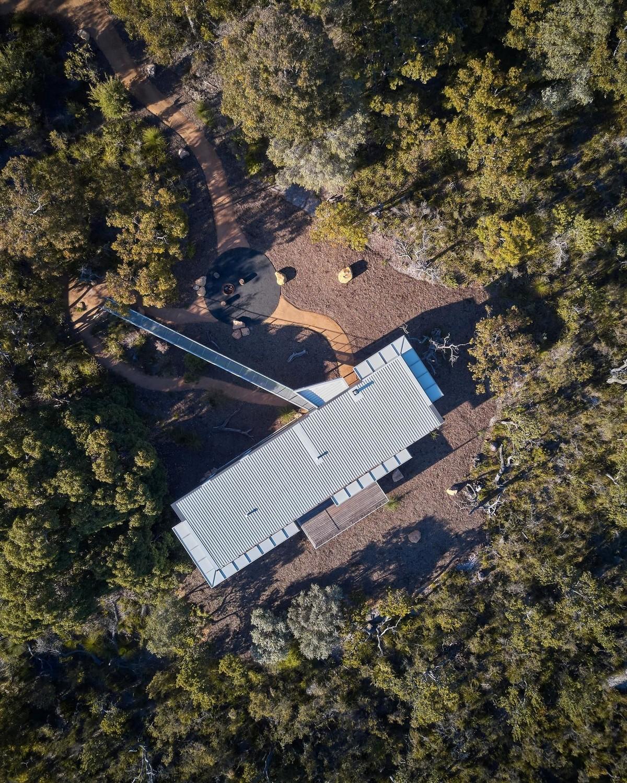 Загородный дом в дикой природе Австралии