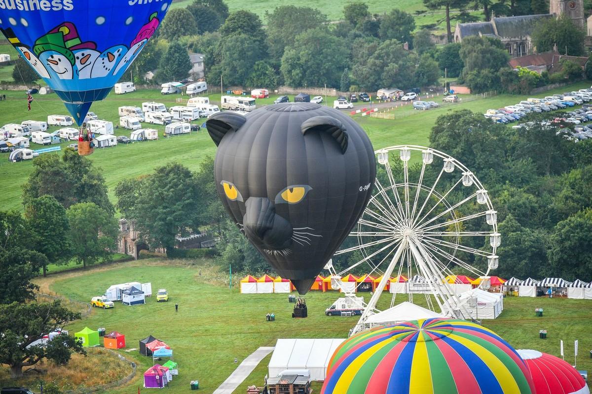 Бристольский Международный фестиваль воздушных шаров 2019