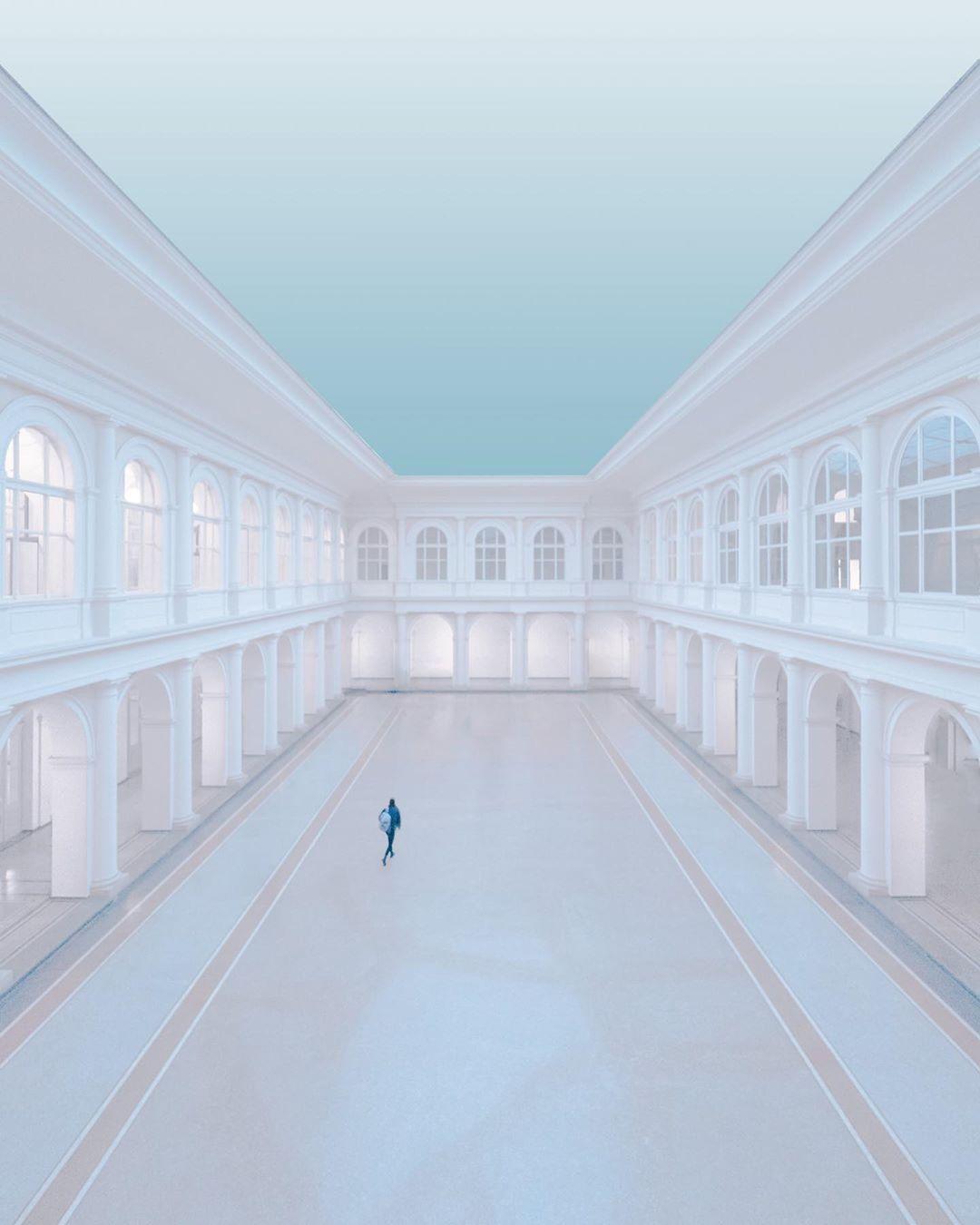 Минималистичные архитектурные снимки от Маттиаса Фрейслера