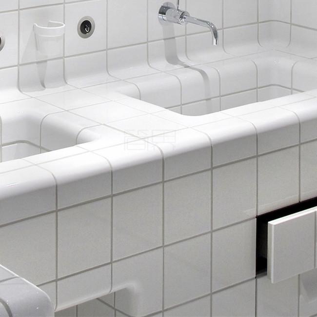 Необычная отделка ванной комнаты