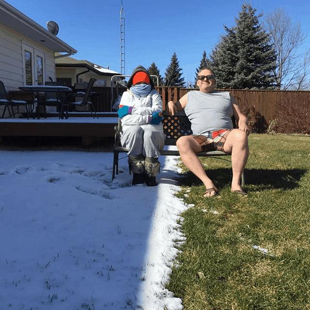 Красноречивые снимки о жизни в Канаде
