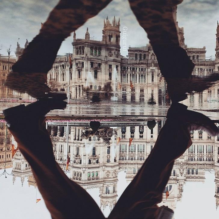 Поразительный мир отражений от Гидо Гутьерреса Руиса