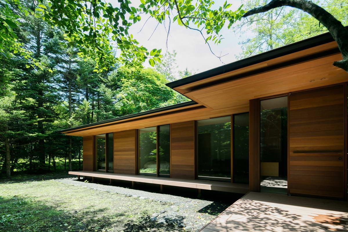 Минималистская резиденция в Японии