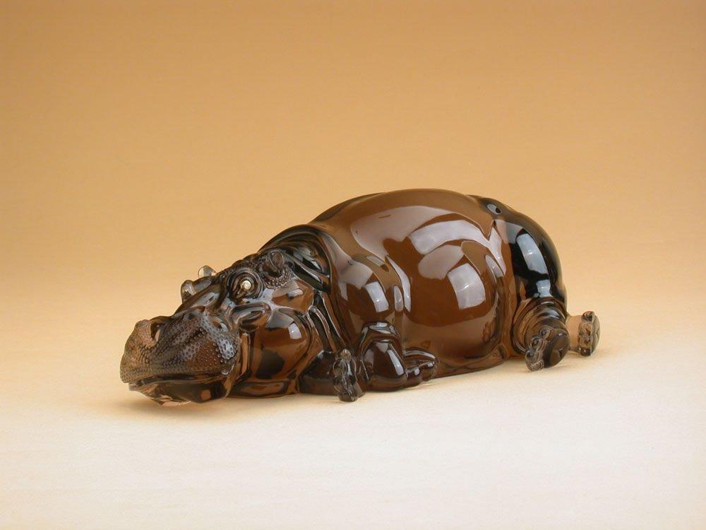 Резные скульптуры животных из драгоценных камней от семьи Дрехеров