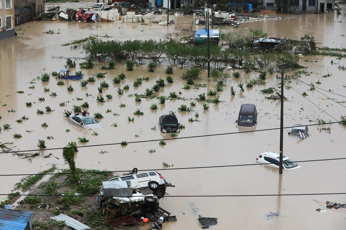 Смертоносный тайфун в Китае