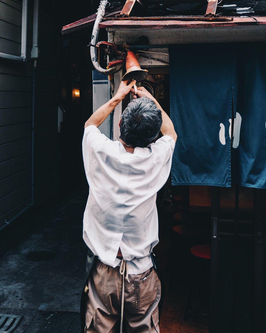 Уличные и городские снимки Японии от Мизуки Танаки