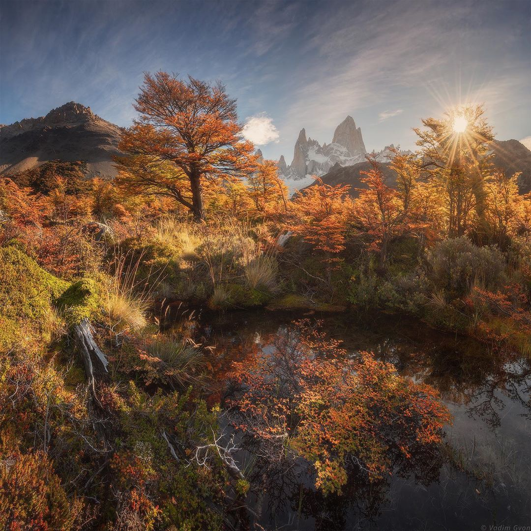 Красоты природы и путешествия на снимках Вадима Гвона