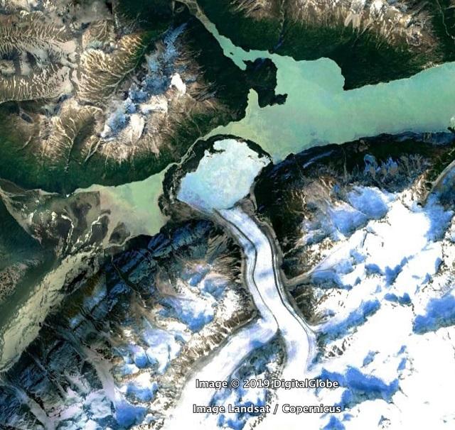 Необычные места нашей планеты на Google Maps