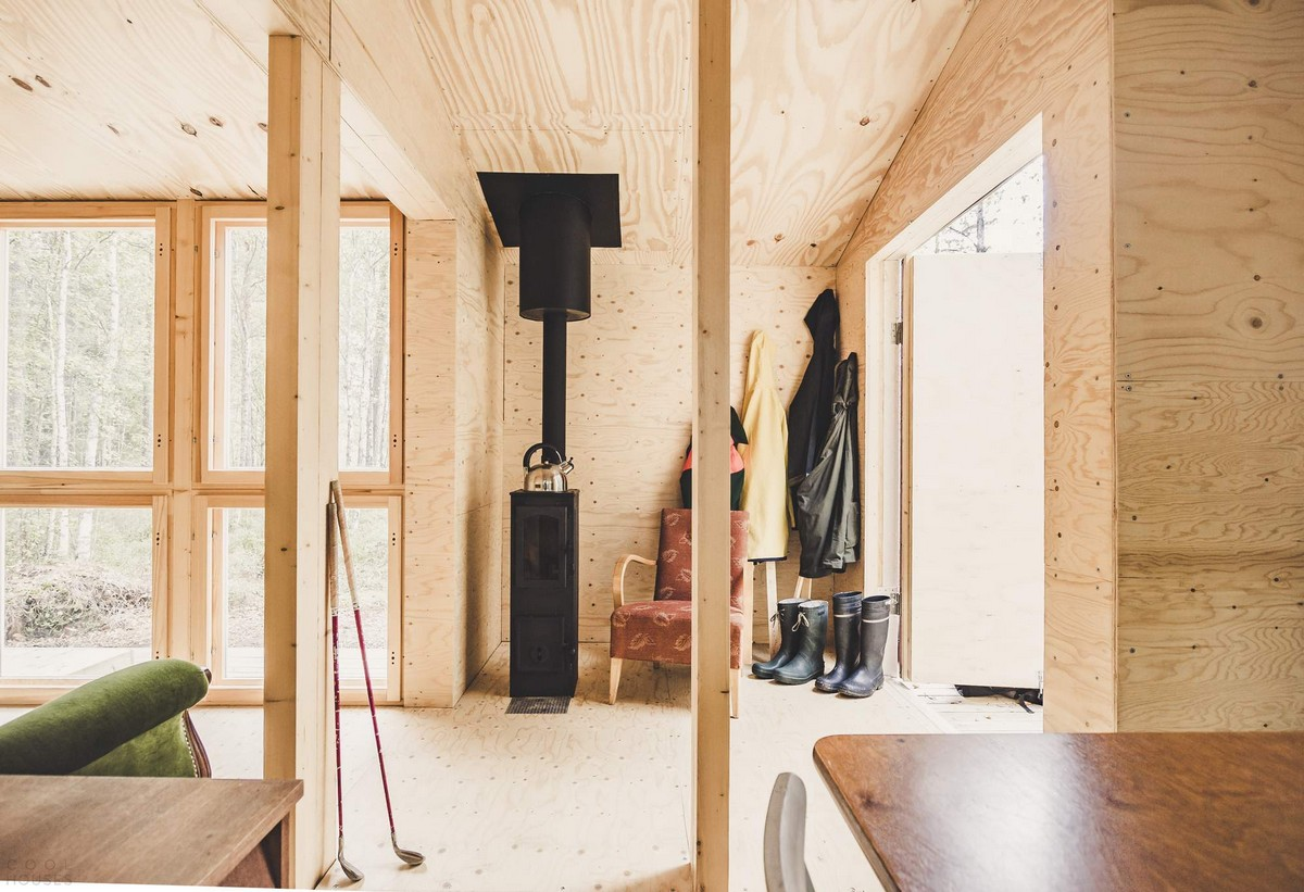 Домик в Финляндии, сделанный своими руками
