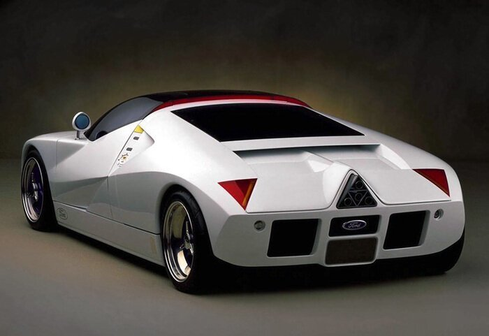 Малоизвестный концепт Ford GT 90