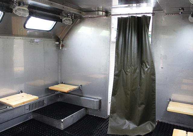 Новейшие передвижные бани ППБ-32