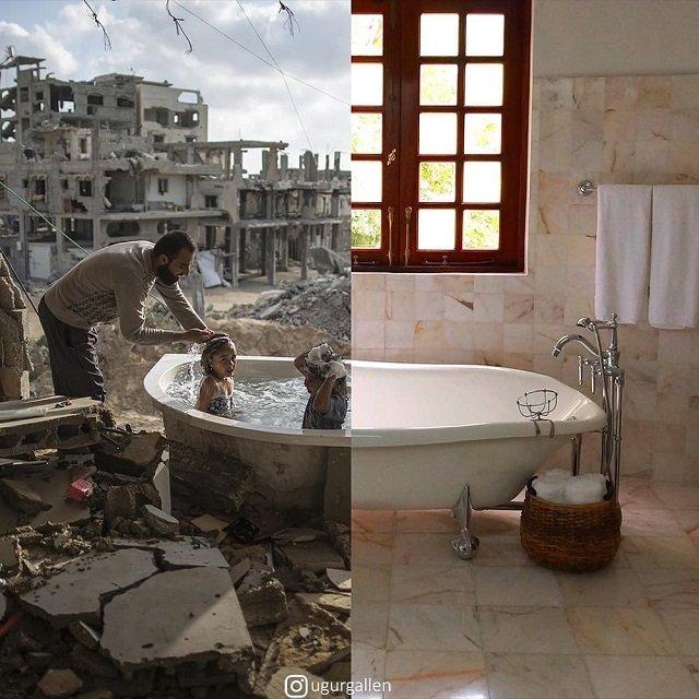 Проект турецкого фотографа Мир дома - мир во всем мире