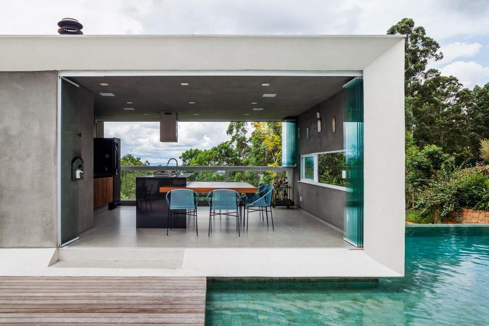 Симпатичный интерьер домов и особняков