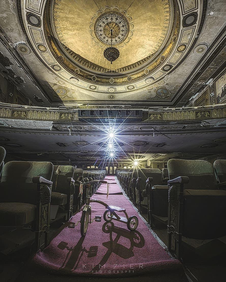 Заброшенные места в объективе Кима Зира