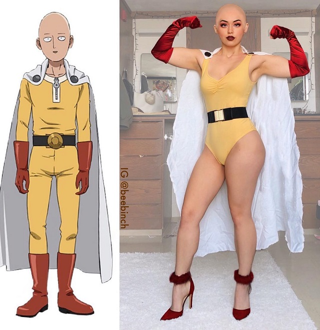 Мира Парк делает забавные косплеи на мультяшных персонажей