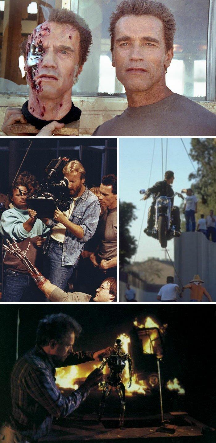 Фотографии со съемочных площадок 30 киношедевров