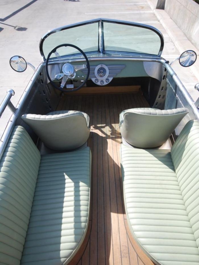 Кемпер Decoliner — сухопутная яхта с капитанским местом на крыше