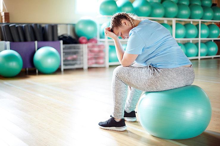 Почему вес не уходит при занятиях спортом