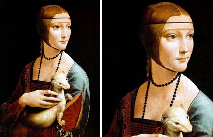 Тайны на картине Леонардо да Винчи Дама с горностаем