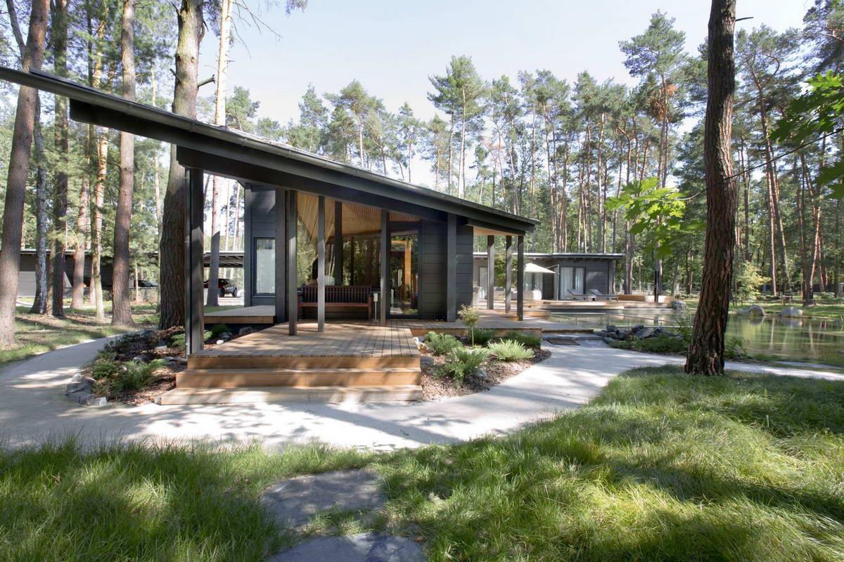 Дом посреди леса в Чехии
