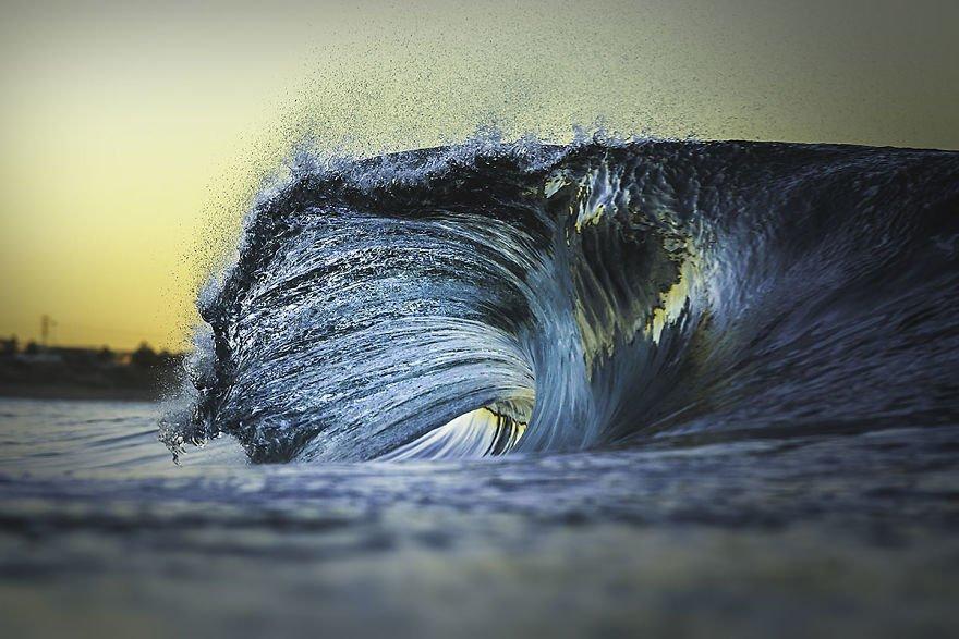 Морские волны в объективе Криса Диксона