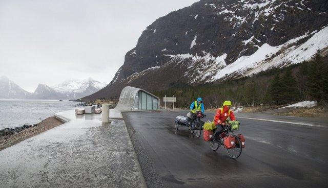 Что это за стильное здание в Норвегии?