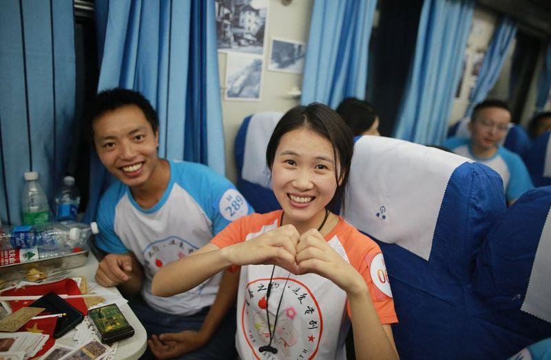 Поезд любви поможет найти свою половинку в Китае