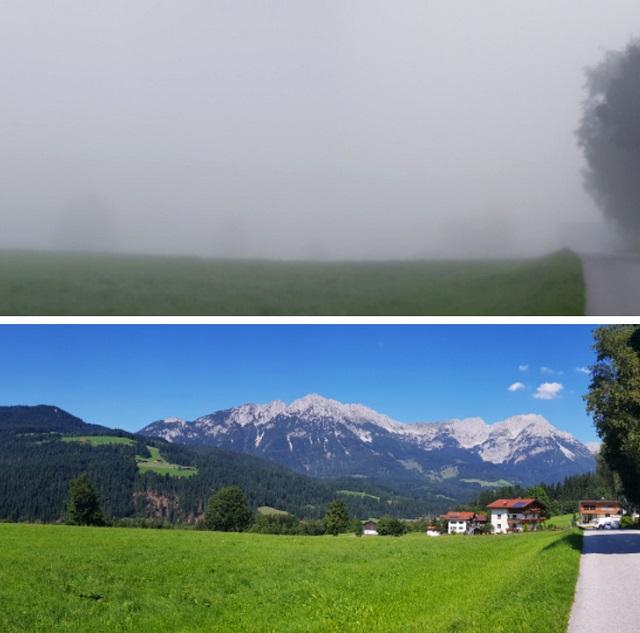 Занимательные сравнения на снимках