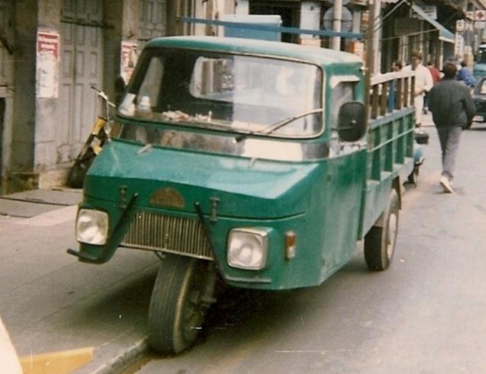 Очень редкие автомобили производства Греции