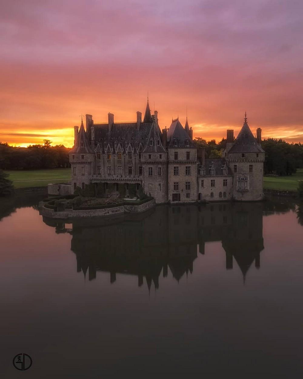 Минималистичные пейзажи Франции от Грегори Доливе