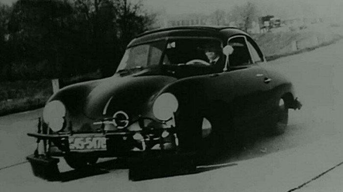 Porsche со шваброй, которого боялись контрабандисты