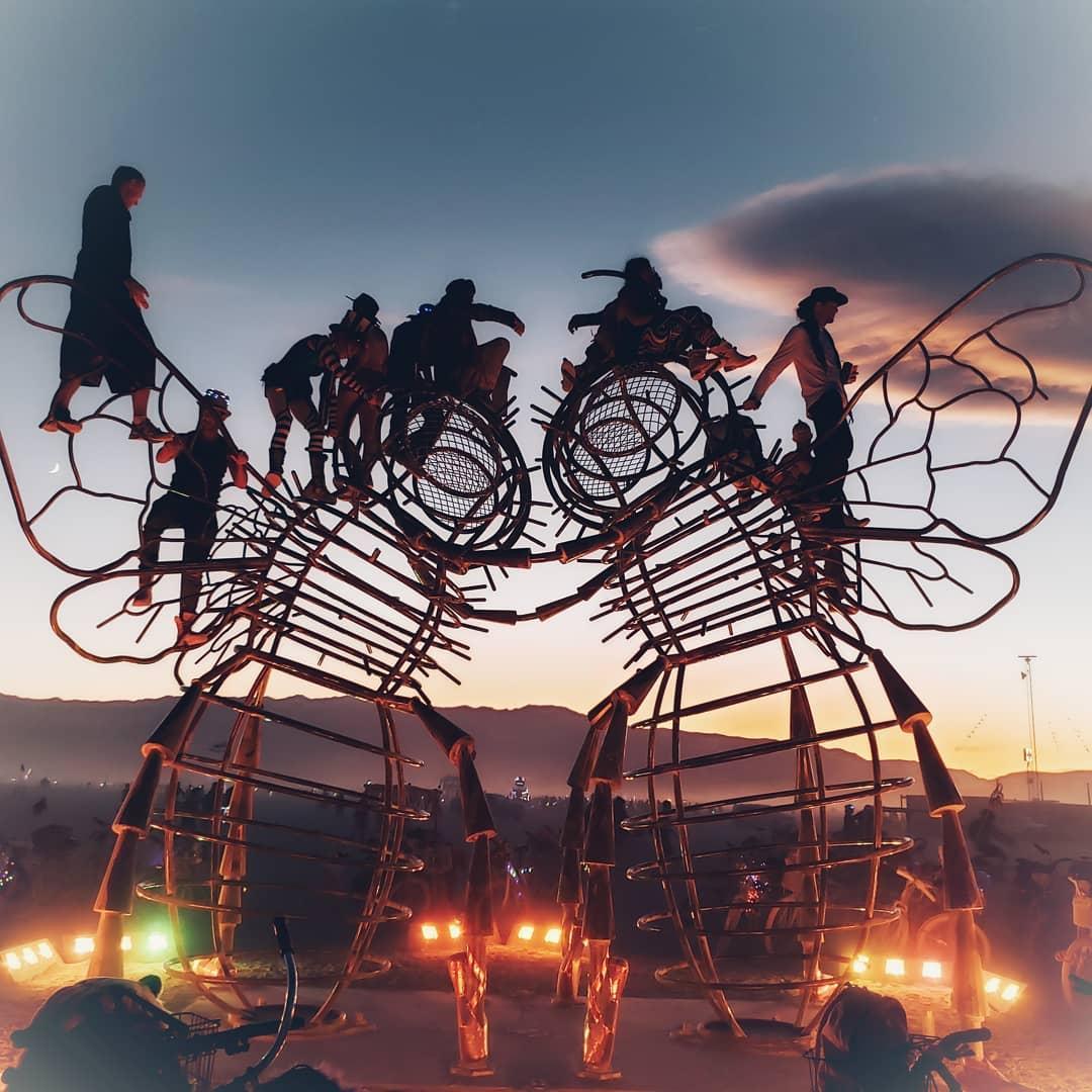 Фестиваль Burning Man 2019 на снимках