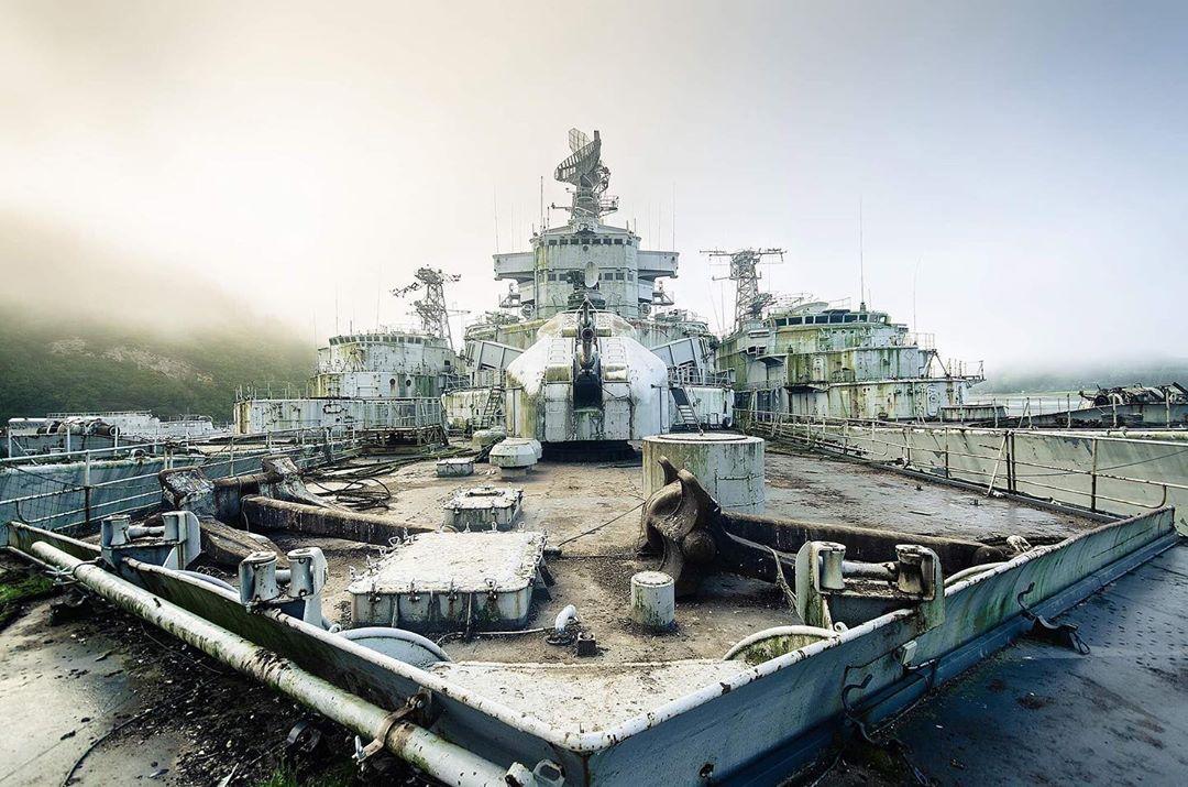 Снимки заброшенных мест от Боба Тиссена