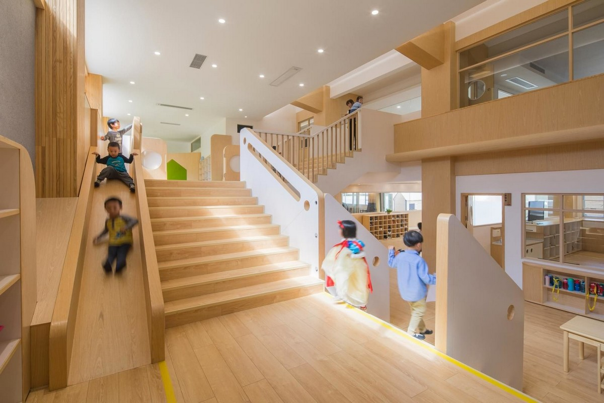 Детский сад Lion International Kindergarten в Китае