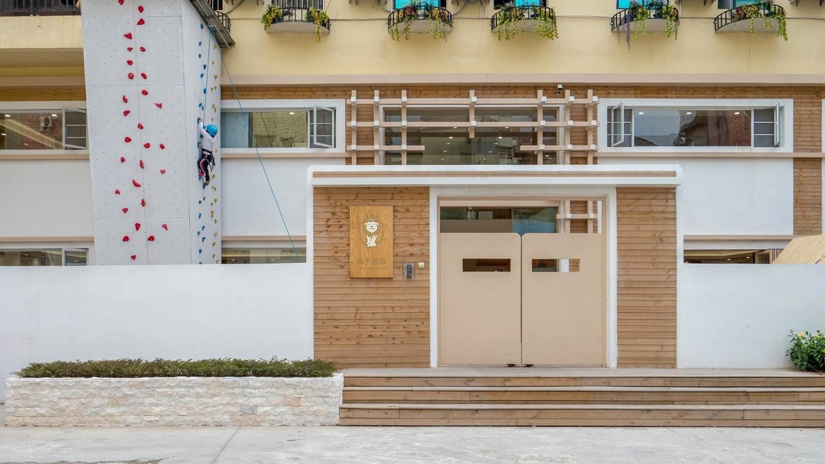 Детский сад Lion International Kindergarten в Китае