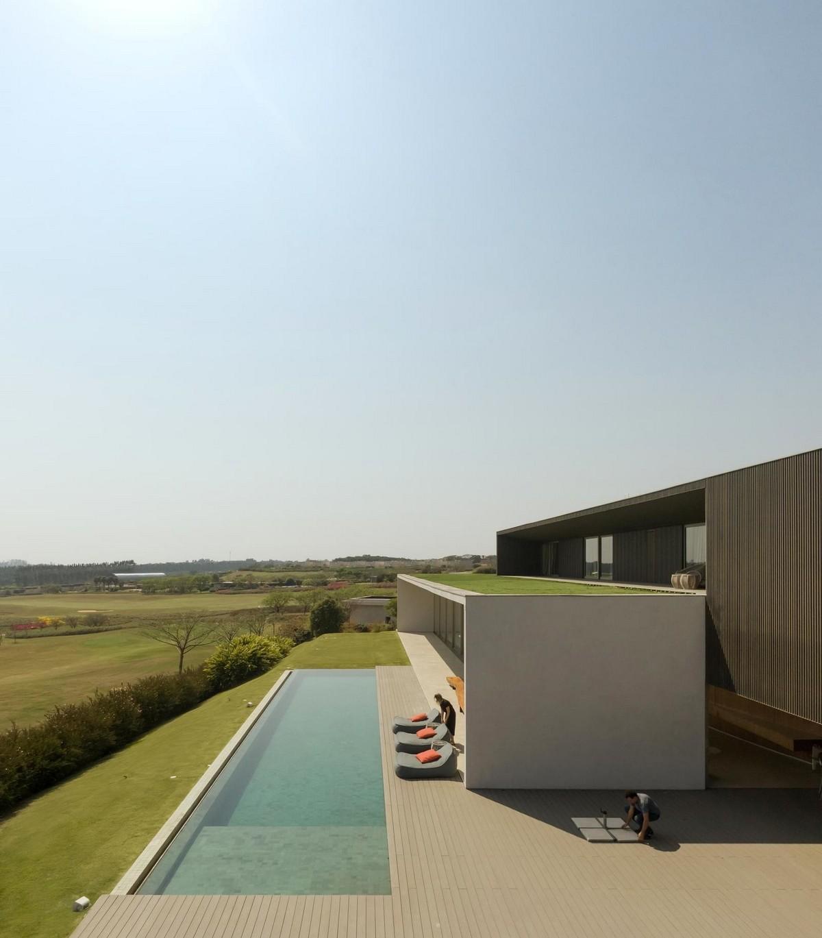 Особняк с видом на поле для гольфа в Сан-Паулу