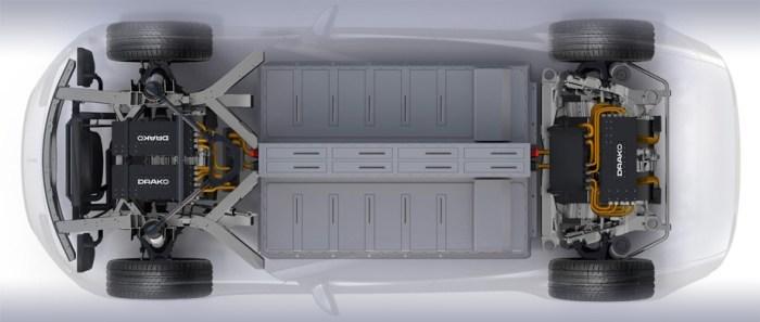 Drako GTE - электрокар мощнее Bugatti Veyron