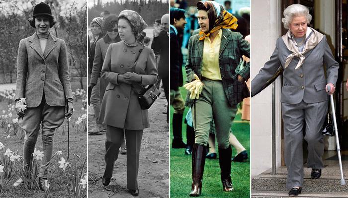 По каким деталям гардероба легко узнать Елизавету II