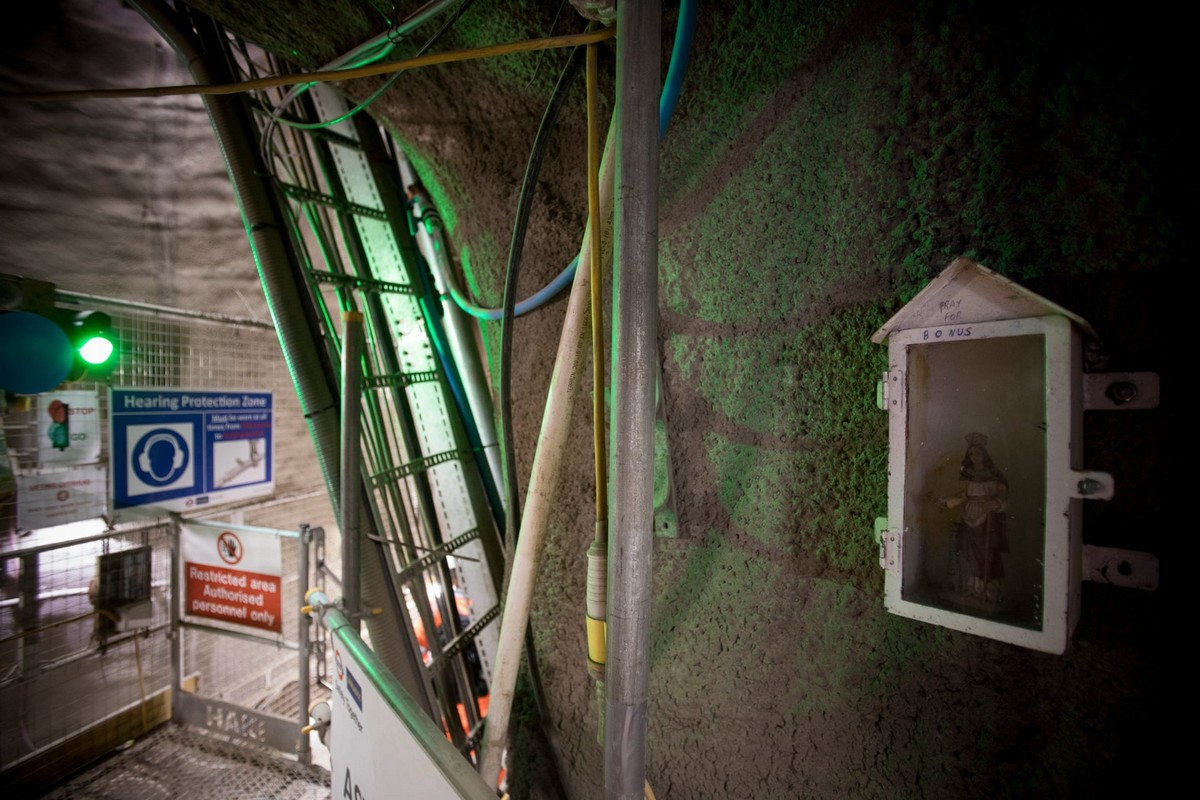 Заброшенная лондонская линия метро