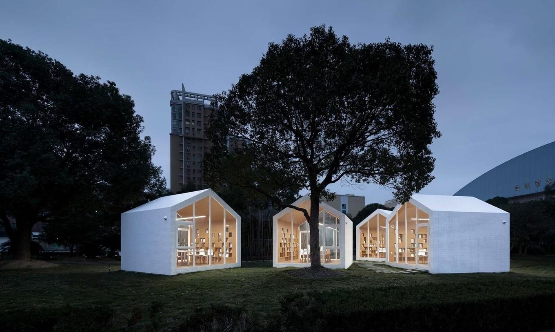 Проект библиотеки средней школы в Китае