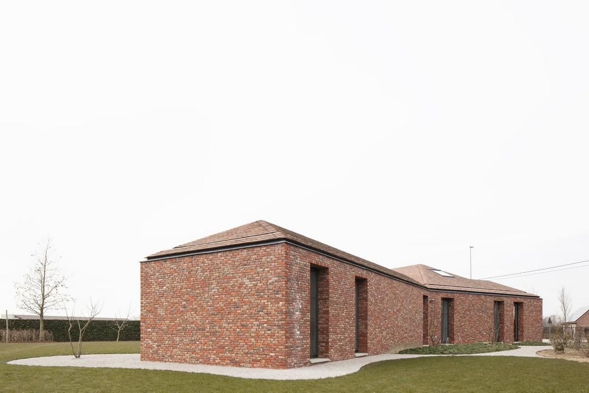 Расширение старого дома в Бельгии